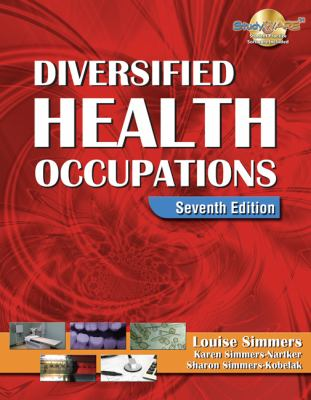 Diversified Health Occupations [With CDROM] 9781418030216