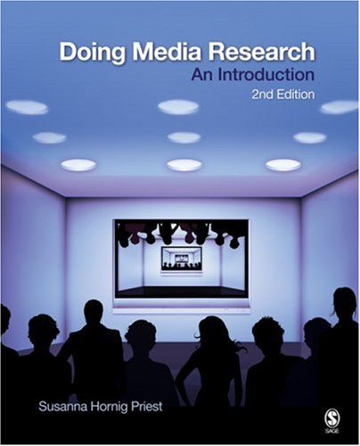 Doing Media Research: An Introduction 9781412960977