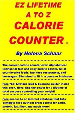 EZ Lifetime A to Z Calorie Counter 9781411602823