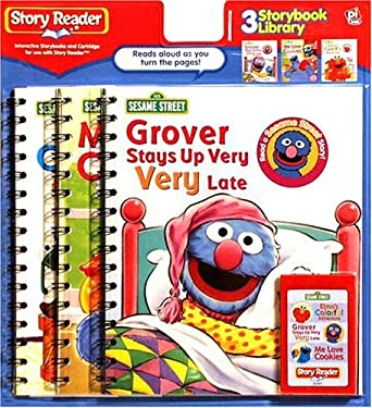 Elmo's Colorful Adventure/Grover Stays Up Very, Very Late/The Last Cookie