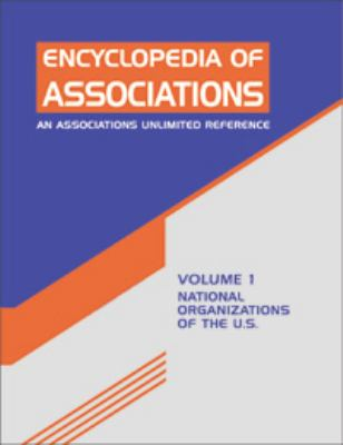 Encyclopedia of Associations: National Organizations of the U.S. 9781414446578