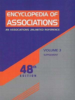 Encyclopedia of Associations: Supplement 9781414440330