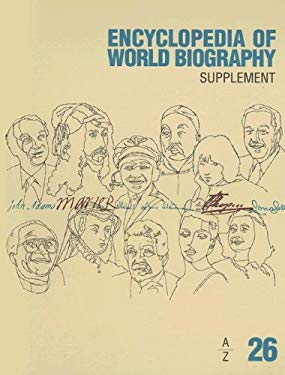 Encyclopedia of World Biograhy: Supplement A-Z 9781414400976