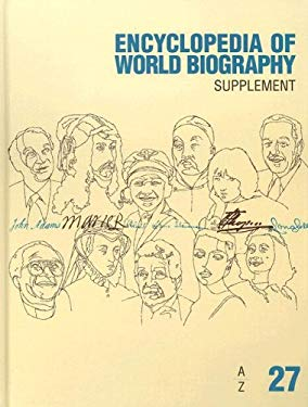 Encyclopedia of World Biography Supplement: A - Z 9781414418926