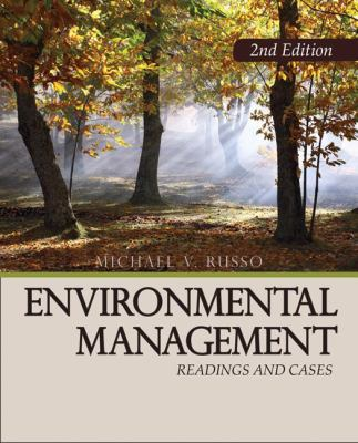 Environmental Management: Readings and Cases 9781412958493