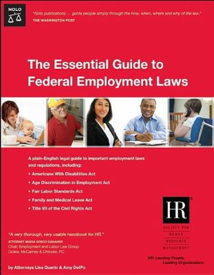 Essential Guide to Federal Employment Laws 9781413306026