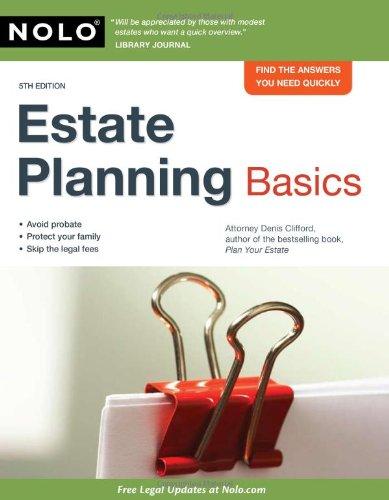 Estate Planning Basics 9781413310504