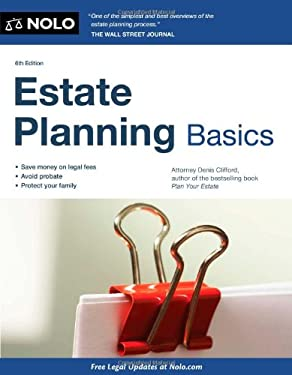 Estate Planning Basics 9781413316216
