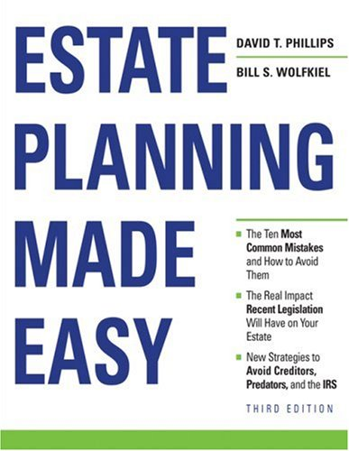 Estate Planning Made Easy 9781419595967