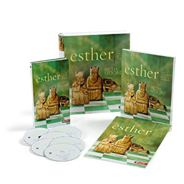 Esther: It's Tough Being a Woman [With 6 DVDs and Leader Guide, Member Book] 9781415852897