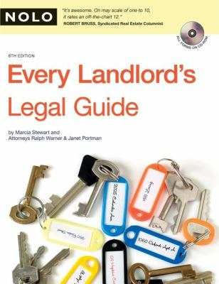 Every Landlord's Legal Guide [With CDROM] 9781413308563