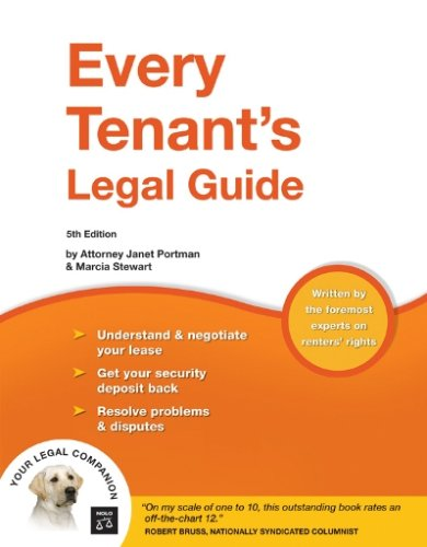 Every Tenant's Legal Guide 9781413306255