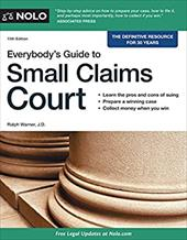 Everybody's Guide to Small Claims Court (Everybody's Guide to Small Claims Court. National Edition) 22271785