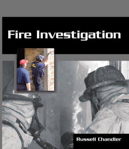Fire Investigation 9781418009601