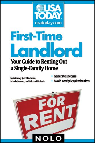 First-Time Landlord: Your Guide to Renting Out a Single-Family Home 9781413309119