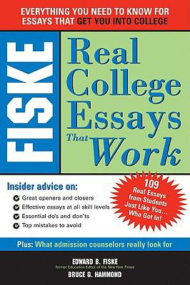Fiske Real College Essays That Work 9781417759972