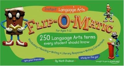 Flip-O-Matic Instant Language Arts: For Ages 9-12 9781419541797