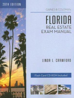 Florida Real Estate Exam Manual [With CDROM] 9781419525810