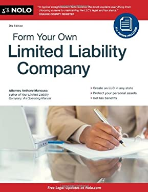 Form Your Own Limited Liability Company [With CDROM] 9781413316247