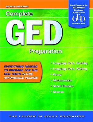GED Complete Preparation: All-In-One Study Guide 9781419053993