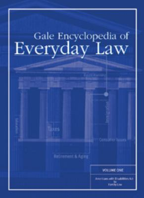 Gale Encyclopedia of Everyday Law 9781414403533