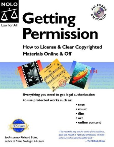 Getting Permission: How to License & Clear Copyrighted Materials Online & Off [With CDROM] 9781413300741