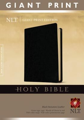 Giant Print Bible-NLT 9781414314280