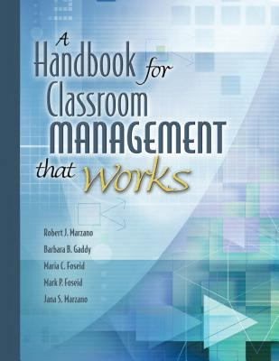 Handbook for Classroom Management That Works 9781416602361