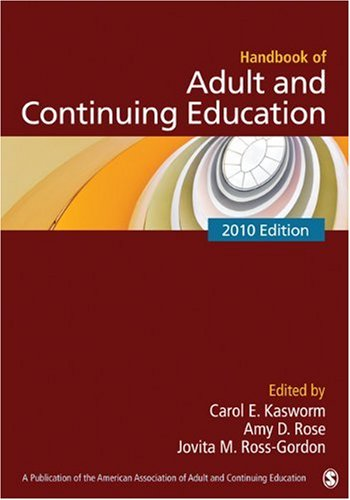 Handbook of Adult and Continuing Education 9781412960502