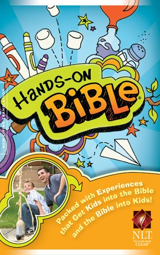 Hands-On Bible-NLT-Children 9781414337692