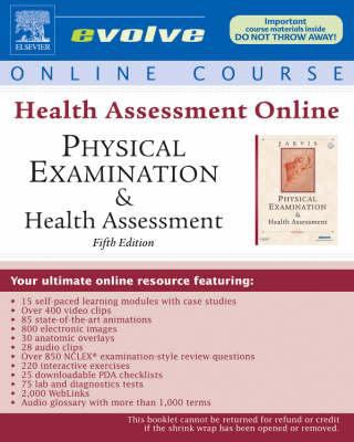 Health Assessment Online for Physical Examination & Health Assessment [With Access Code] 9781416040880