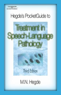Hegde's Pocketguide to Treatment in Speech-Language Pathology 9781418014940