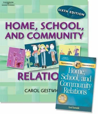 Home, School, and Community Relations W/ Professional Enhancement Booklet Pkg 9781418050559