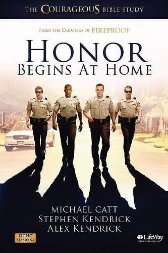 Honor Begins at Home Leaders Kit: The Courageous Bible Study [With CDROM and Movie, Teaching Clips and 3 Books] 9781415871805