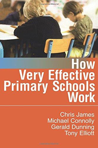How Very Effective Primary Schools Work 9781412920087