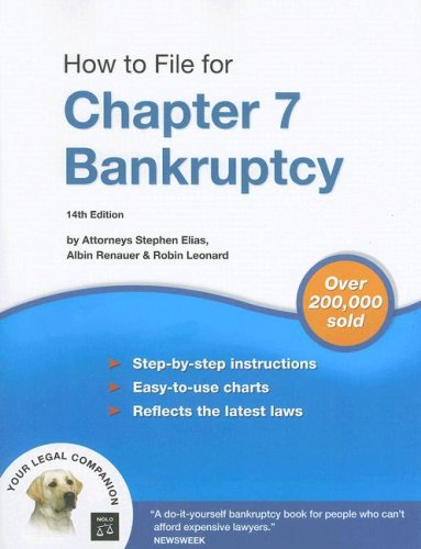 How to File for Chapter 7 Bankruptcy 9781413306279