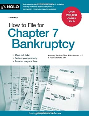 How to File for Chapter 7 Bankruptcy 9781413316339