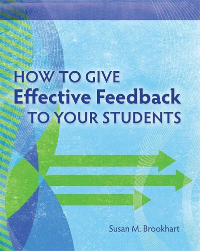 How to Give Effective Feedback to Your Students 9781416607366