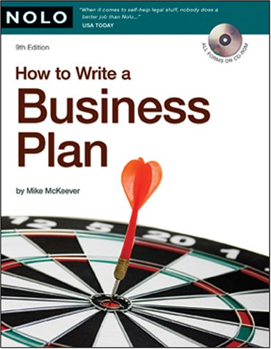 How to Write a Business Plan [With CDROM]