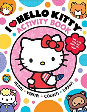 I Heart Hello Kitty Activity Book: Read, Write, Count, and Draw with Hello Kitty and Friends!: Read, Write, Count, and Draw with Hello Kitty and Frien 9781419705519