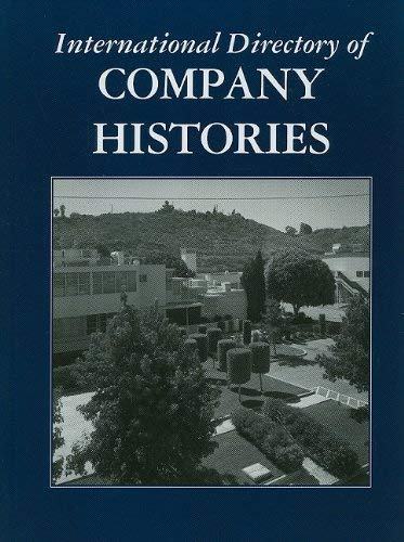 International Directory of Company Histories 9781414447292