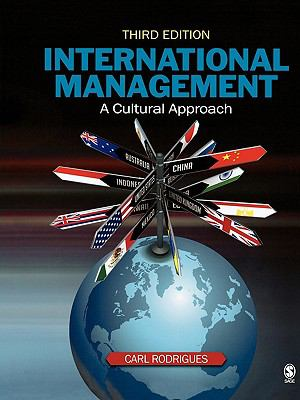 International Management: A Cultural Approach 9781412951418