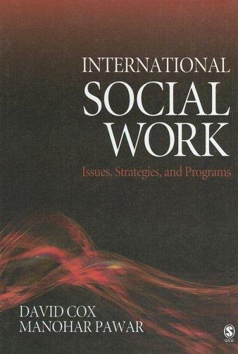 International Social Work: Issues, Strategies, and Programs 9781412914079
