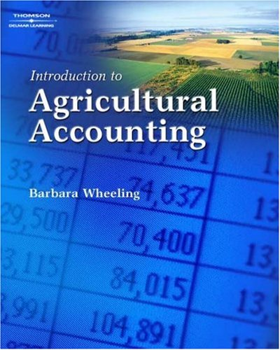 Introduction to Agricultural Accounting 9781418038342