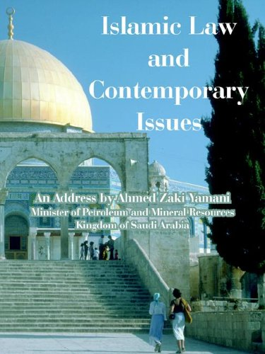 Islamic Law and Contemporary Issues 9781410225542