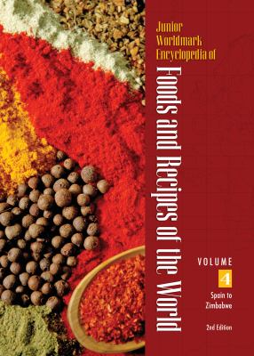 Junior Worldmark Encyclopedia of Foods and Recipes of the World 4 Volume Set 9781414490717
