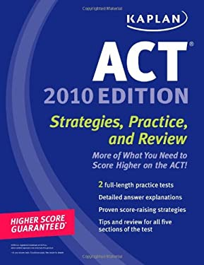 Kaplan ACT: Strategies, Practice, and Review 9781419553264