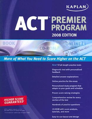 Kaplan ACT Premier Program [With CDROM] 9781419551635