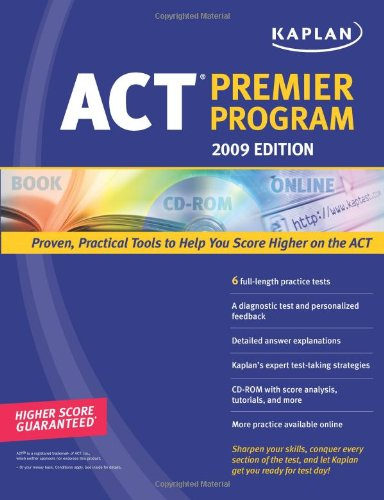 Kaplan ACT Premier Program [With CDROM] 9781419552373