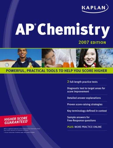 Kaplan AP Chemistry 9781419550546